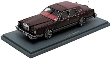 Lincoln Mark VI 1980 Rood 1-43 Neo Scale Models