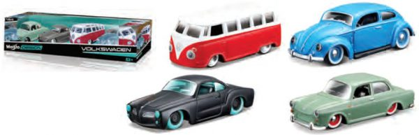 Volkswagen 1-64 SERIES - 4 CAR SET Maisto Design