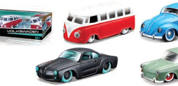 Volkswagen 1-64 SERIES - 4 CAR SET Maisto Design