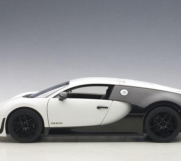 Bugatti Veyron Super Sport Car Blanc Edition 1-18 Autoart