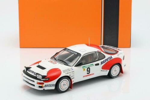 Toyota Celica GT-Four ST185 Nr# 9 4e Rallye Portugal 1992 Alen, Kivimäki 1:18 Ixo Models
