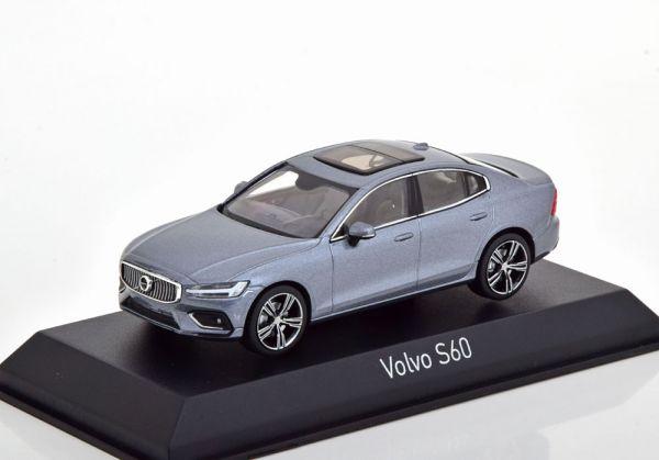 Volvo S60 Limousine 2018 Osmium Grey 1-43 Norev