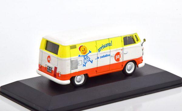Volkswagen T1C Transporter Arrivano 1965 Geel / Wit / Oranje 1-43 Altaya Volkswagen