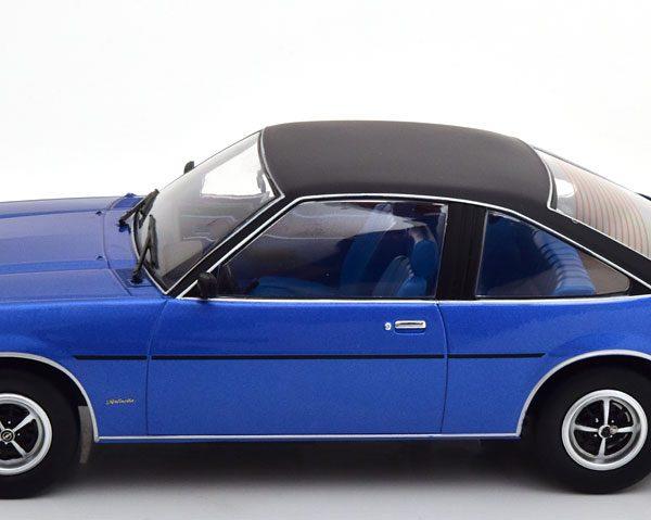 Opel Manta B Berlinetta 1975 Blauw Metallic 1-18 MCG Models