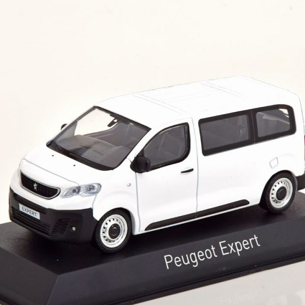 Peugeot Expert Bus 2016 Wit 1-43 Norev