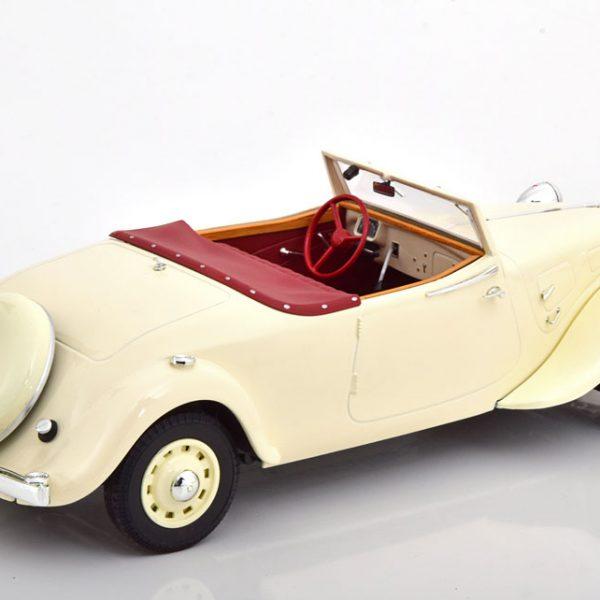 Citroen Traction Avant 11b Cabrio 1939 Beige 1-18 Norev