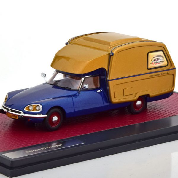 Citroen ID Camper 1973 1-43 Blauw Metallic Matrix Scale Models Limited 408 pcs.