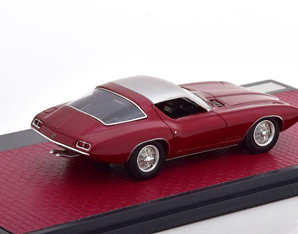 Ford Cougar II Concept #CSX2008 1963 Metallic Rood 1-43 Matrix Scale Models Limited 408 pcs.