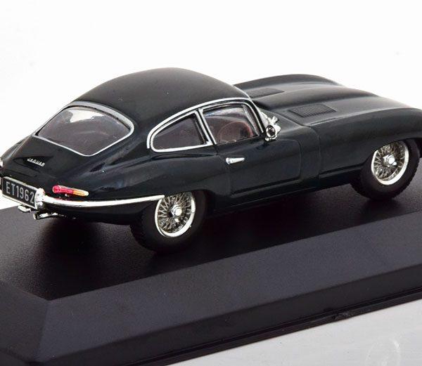 Jaguar E-Type Coupe 1961 Donkergroen 1-43 Atlas