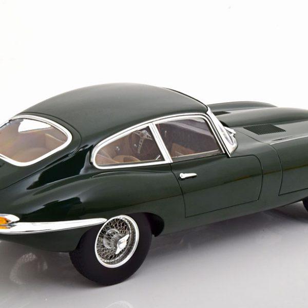Jaguar E-Type Coupe 1961 Donkergroen 1-12 Norev