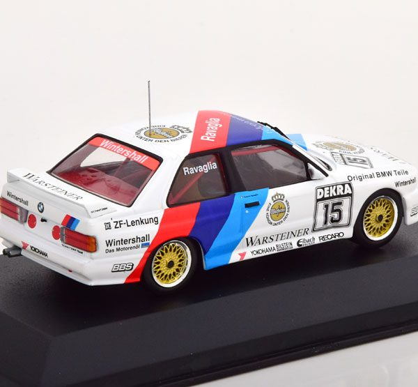 BMW M3 E30 Nr# 15 DTM Champion 1989 Ravaglia 1-43 CMR Models