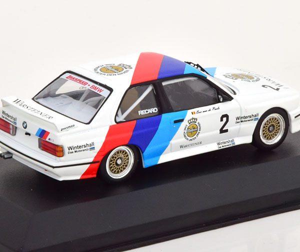 BMW M3 E30 #2 DTM Champion 1987 Van de Poele 1-43 CMR Models