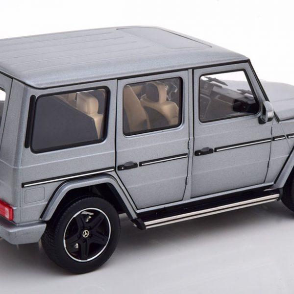 Mercedes-Benz G-Klasse ( W463 ) Designo 2015 Matgrijs Metallic 1-18 Iscale Limited 500 Pieces