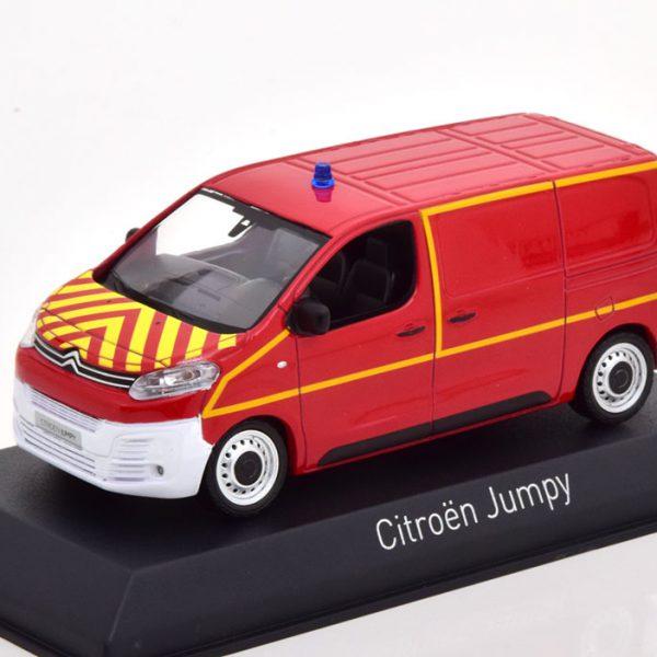 "Citroen Jumpy ""Feuerwehr"" 2016 Rood 1-43 Norev"
