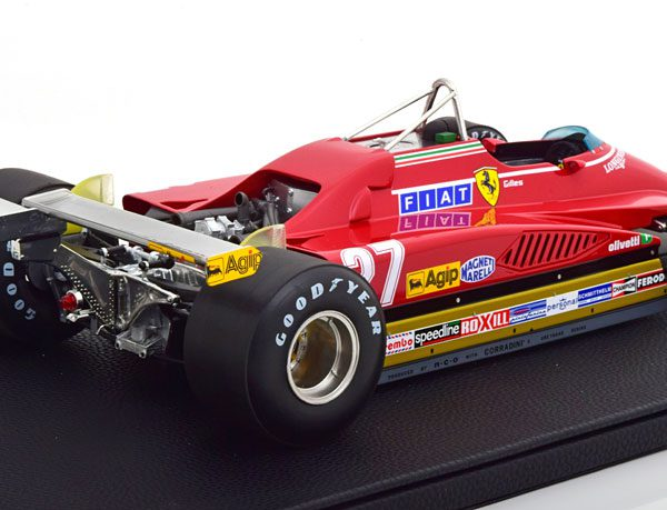 Ferrari 126 C2 GP Long Beach 1982 Villeneuve 1-12 GP Replicas Limited 250 Pieces