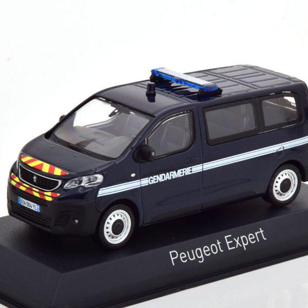"""Peugeot Expert 2016 """"Gendarmerie"""" Blauw 1-43 Norev"""