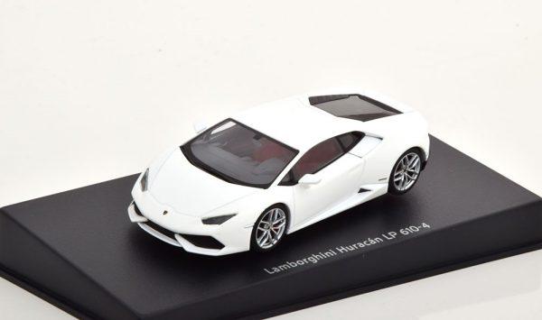 Lamborghini Huracan LP610-4 2014 Mat Wit 1-43 Autoart