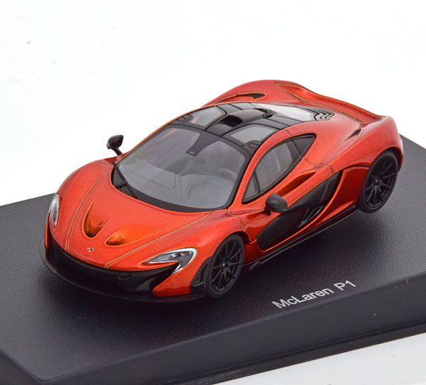 McLaren P1 2013 Oranje Metallic 1-43 Autoart