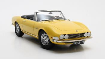 Fiat Dino Spyder 1966 Geel 1-18 Cult Scale Models Limited Edition