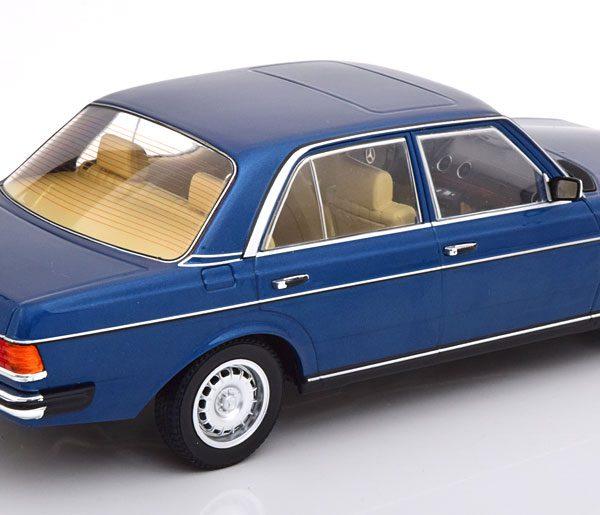 Mercedes-Benz 280E ( W123 ) 1977 Donkerblauw Metallic 1-18 Limited 1000 Pieces