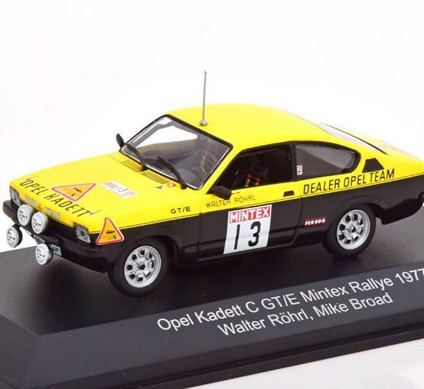 Opel Kadett C GT/E No.13, Mintex Rally 1977 Röhrl/Broad 1-43 CMR Models