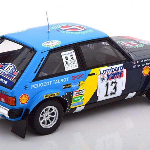 Talbot Sunbeam Lotus No.13, RAC Rally 1982 Frequelin/Fauchile 1-18 Ixo Models