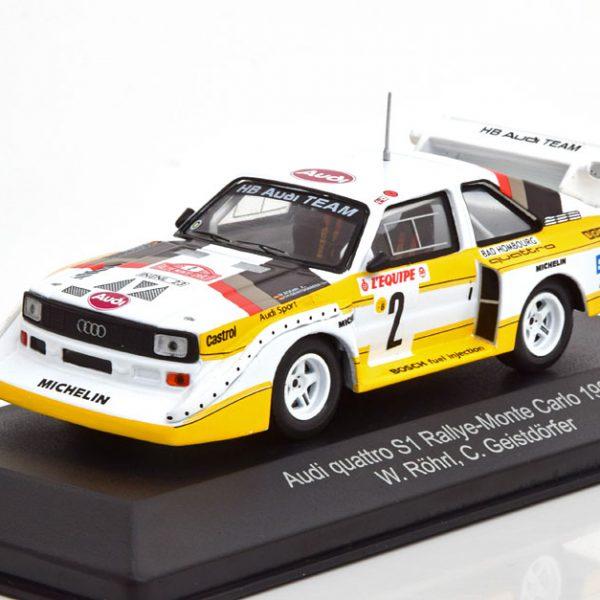 Audi Quattro Sport E2 No.2, Rally Monte Carlo 1986 Röhrl/Geistdörfer 1-43 CMR Models
