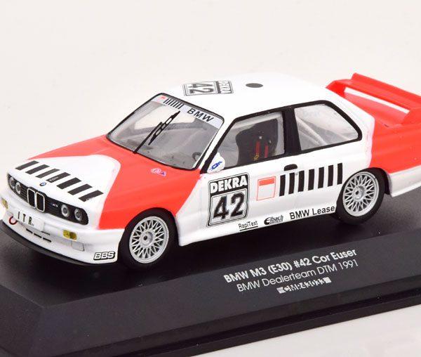 BMW M3 E30 No.42, DTM 1991 Euser 1-43 CMR Models