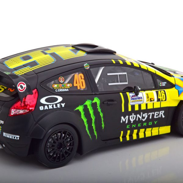 Ford Fiesta RS WRC No.46, Monza Rally Show 2013 Rossi/Cassina 1-18 Minichamps Limited 702 Pieces