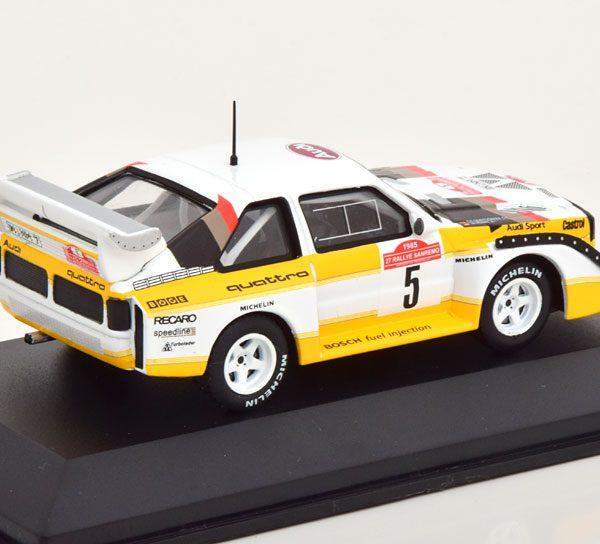 Audi Quattro Sport S1 No.5, Rally Sanremo 1985 Röhrl/Geistdörfer 1-43 CMR Models
