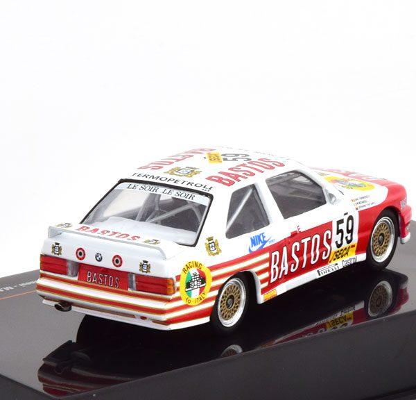 "BMW M3 E30 No.59, 24h Spa 1987 ""Bastos"" Fontanesi/Micangeli 1-43 Ixo Models"