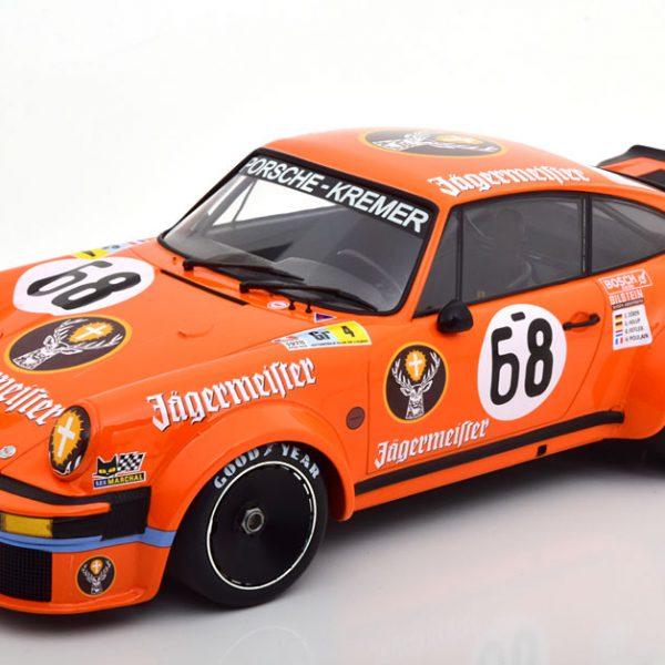 "Porsche 934 No.68, 24h Le Mans 1978 ""jagermeister"" Poulain/Feitler/Holup/Dören 1-12 Oranje Minichamps"