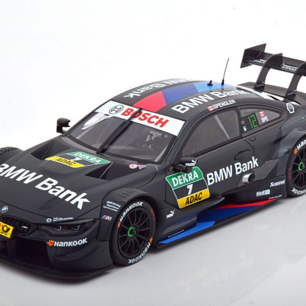 BMW M4 No.7, DTM 2018 B.Spengler 1-18 Minichamps Limited 300 Pieces
