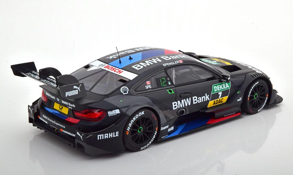 BMW M4 No.7, DTM 2018 B.Spengler 1-18 Minichamps Limited 300 Pieces