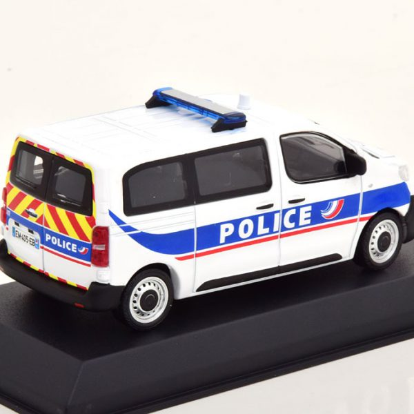 Peugeot Expert Police Nationale 2016 Wit / Blauw 1-43 Norev