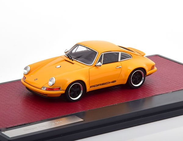 Porsche 911 Singer 2014 Oranje 1-43 Matrix Scale Models Limited 408 pcs.