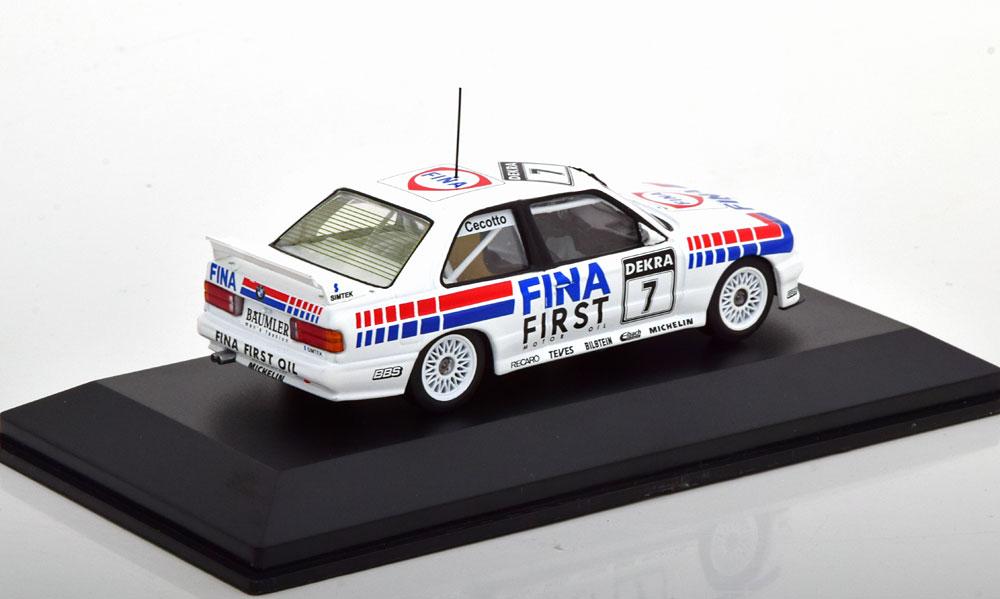 "BMW M3 E30 Winner Brno DTM 1992 ""Fina"" Cecotto 1-43 CMR Models"