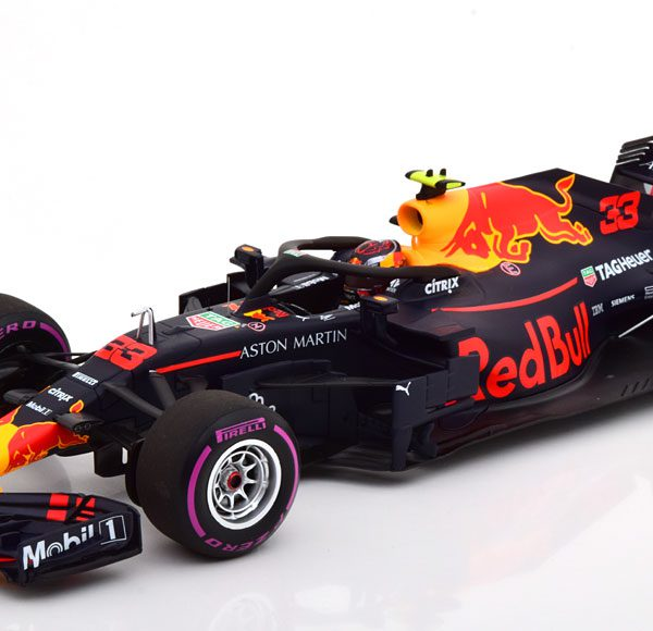 Aston Martin Red Bull Racing RB14 Winner GP Mexico 2018 Max Verstappen 1-18 Minichamps Limited 504 Pieces