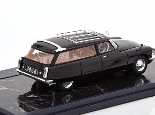 Citroen ID19 Cortege Slough Factory Hearse 1962 Zwart 1962 1-43 Matrix Scale Models Limited 408 pcs.