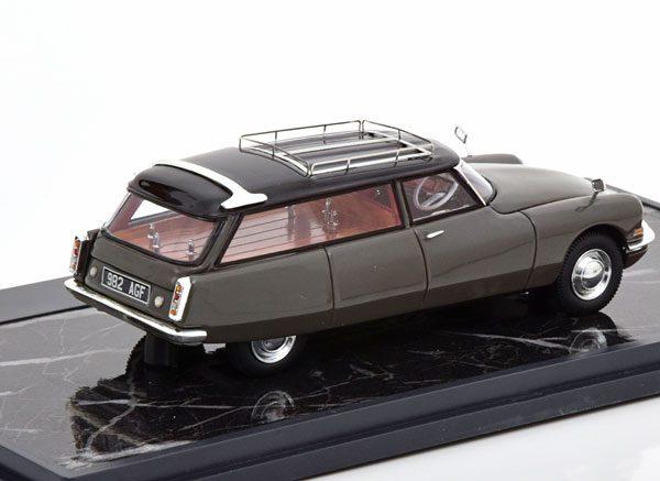 Citroen ID19 Cortege Slough Factory Hearse 1962 Grijszwartr 1-43 Matrix Scale Models Limited 408 pcs.