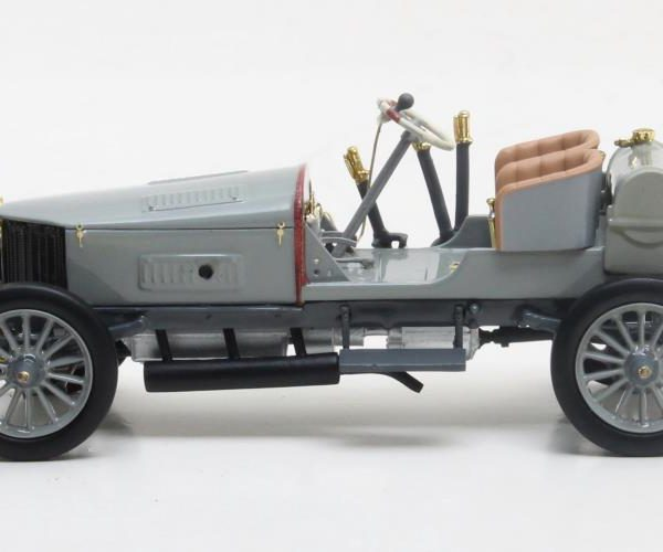 "Spyker 60-HP Four-Wheel Drive Racing Car 1903 Grijs 1-43 ""Louwman Museum"" Matrix Scale Models"