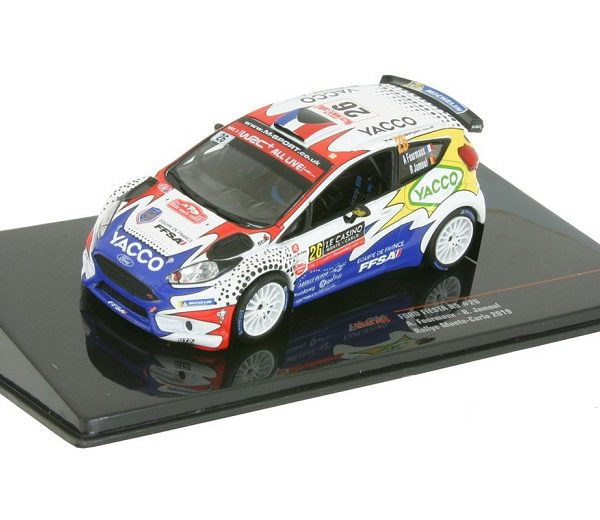 Ford Fiesta R5 #26 Rally Monte Carlo 2019 Adrien Fourmaux / Renaud Jamoul 1-43 Ixo Models