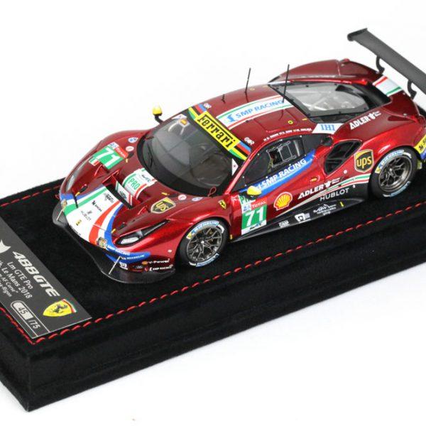 Ferrari 488 GTE 24 Hrs Le Mans 2018 AF Corse Car Nr #71 1-43 BBR-Models Limited 75 Pieces