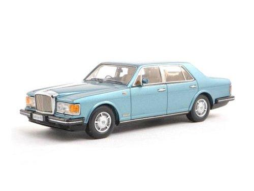 Bentley Mulsane 1980 Blauw 1-43 Neo Scale Models