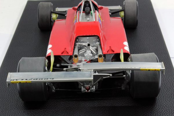 Ferrari 126 C2 1982 Nr# 28 Long Beach Twin Rear Spoiler 1-12 GP Replicas Limited 250 Pieces