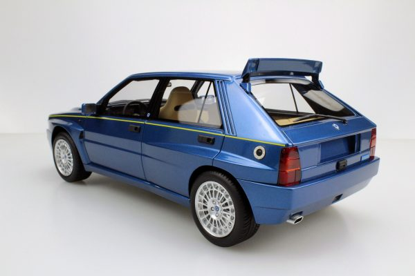 Lancia Delta Integrale Evolution II Blauw 1-18 LS Collectibles Limited 250 Pieces
