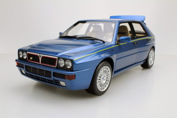 Lancia Delta Integrale Evolution II Blauw 1-18 LS Collectibles Limited 250 Pieces
