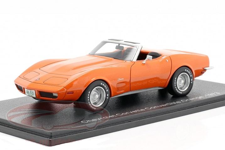 NEO 46935 1973   1//43 Chevrolet Corvette cabriolet orange