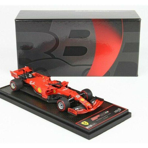 Ferrari SF90 #5 GP Australia 2019 Sebastian Vettel 1-43 BBR Models Limited 350 Pieces