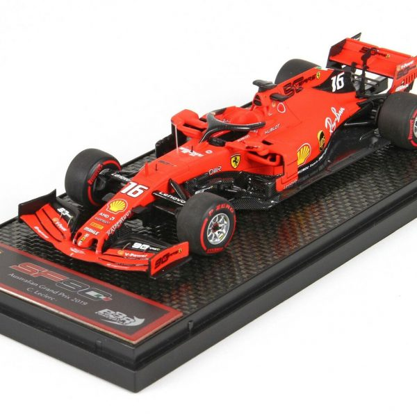 Ferrari F1 SF90 #16 5Th Australian GP 2019 Charles Leclerc 1-43 BBR Models Limited 350 Pieces
